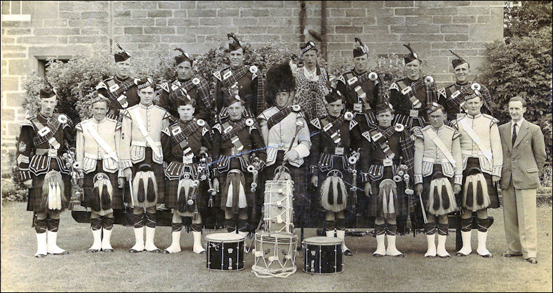 Dornoch Pipe Band History