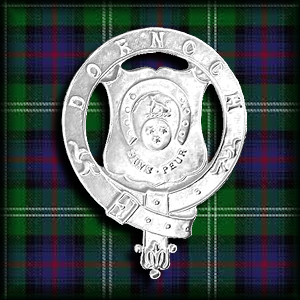 Dornoch Pipe Band Crest Badge